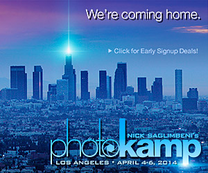 Signup for Nick Saglimbeni's PhotoKamp Los Angeles!