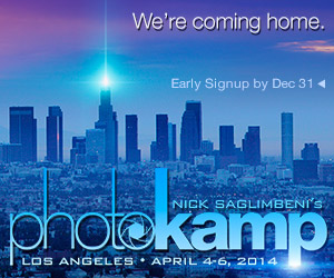 Nick Saglimbeni's PhotoKamp Los Angeles - Signup Now!