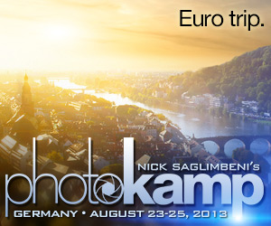 Nick Saglimbeni's PhotoKamp Germany - Signup Now!